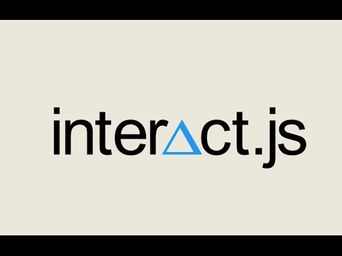 Episode #075 - Drag and Drop with Interact.js