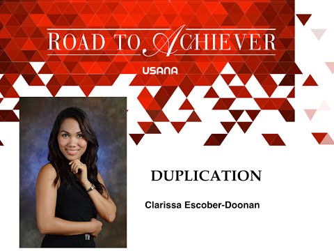 Road to Achiever Duplication with Clarissa Escober