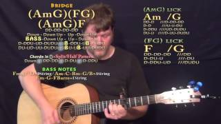 Flashlight (Jessie J) Guitar Lesson Chord Chart - Capo 5th