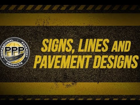 Signs, Lines and Pavement Designs - Traffic Calming