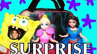 Frozen Surprise Purse Backpack Maleficent Cinderella Toy Review