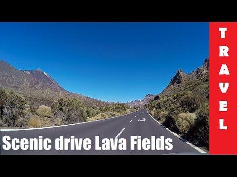 Scenic drive Lava Fields & Volcano Teide | Tenerife, Canary Islands 2016