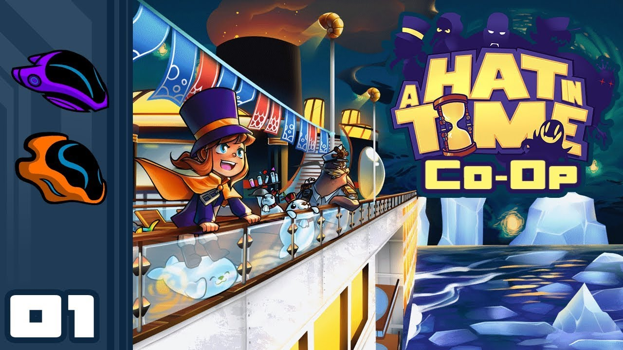 20c787931c9bf Let s Play A Hat In Time  Seal The Deal Co-Op - PC Gameplay Part 1 - Two  Hats Are Better Than One!