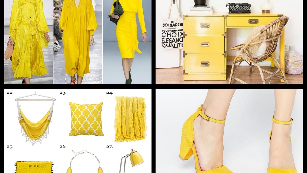 Primrose Yellow Pantone Fashion Color Trends Summer 2017 Interior Decor Ideas Youtube
