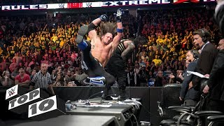 WWE Extreme Rules craziest crash-landings: WWE Top 10, July 14, 20 18