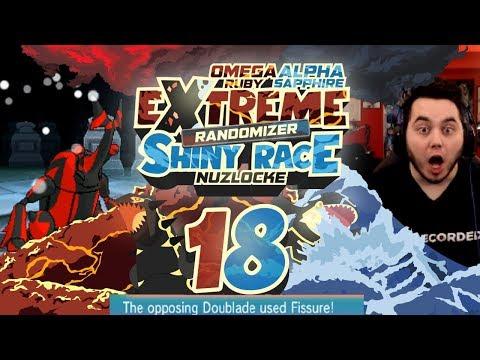 WE GET DESTROYED! ADMINS ARE OVERPOWERED! Pokemon ORAS Extreme Randomizer Shiny Race Nuzlocke Ep 18