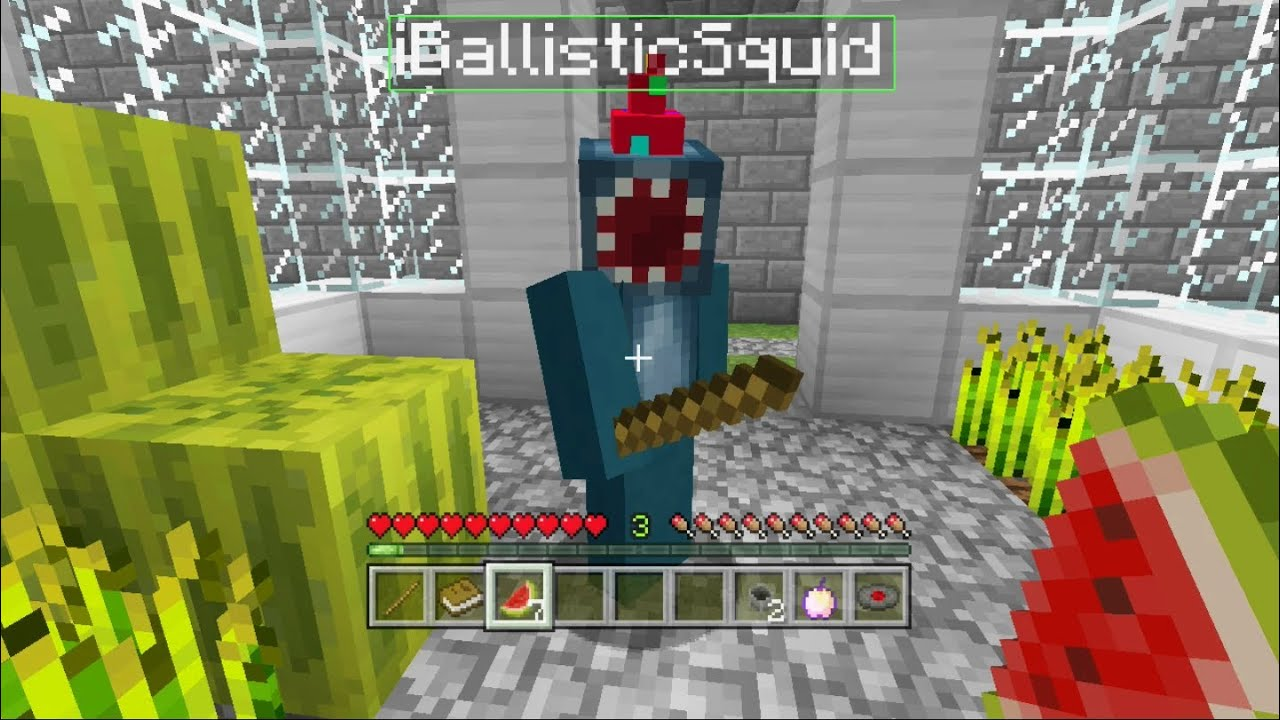 stampylonghead adventure maps with squid with Watch on Watch likewise Iballisticsquid Party Hat likewise Watch moreover Watch likewise Minecraft Xbox The Tree Of Life Adventure Map  2.