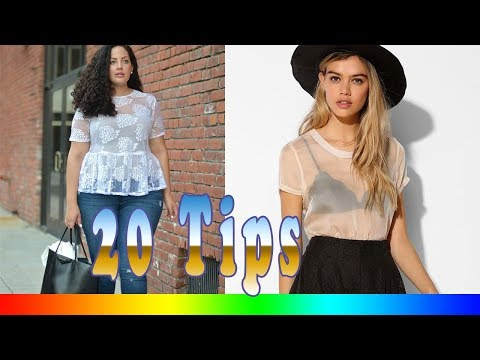 20 Style Tips On How To Wear Sheer Shirts