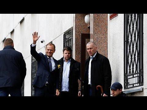 Tusk llega a Polonia para ser interrogado por la fiscalía de Varsovia