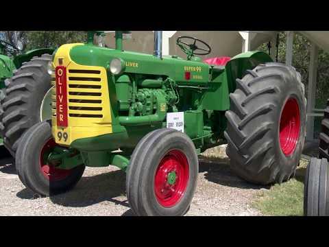 1956 Oliver Super 99 and 1959 Oliver 990 Detroit sel Tractors ... on
