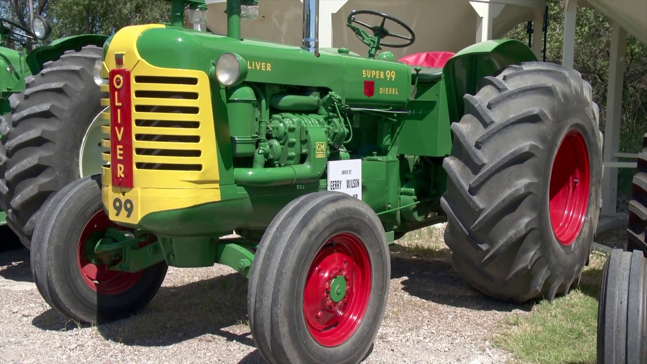 1956 oliver super 99 and 1959 oliver 990 detroit diesel tractors Ford NAA Wiring-Diagram