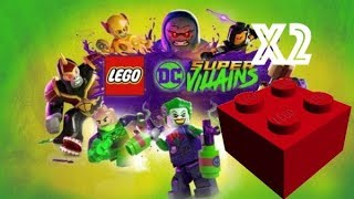 Lego DC Super Villains – Red Brick Studs x2 Location - Fight at the Museum