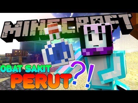 OBAT SAKIT PERUT DI MINECRAFT?! | Minecraft Indonesia BeaconCream S2 #19