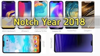 7 Upcoming Notch Phones 2018 [Urdu/Hindi]