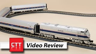 MTH O gauge modern Amtrak set | a Classic Toy Trains review