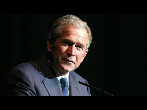 George Bush goes after Obama foreign policy record