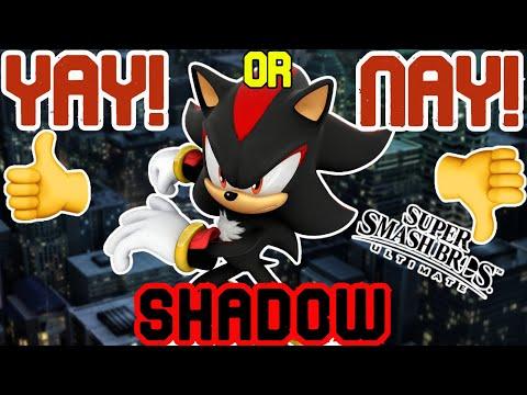 Should SHADOW be in SMASH BROS DLC? |