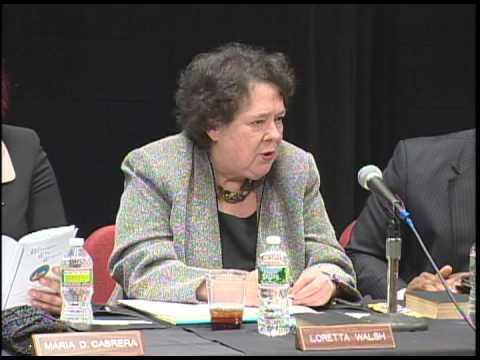 Council Member Loretta Walsh's Statement of Appreciation