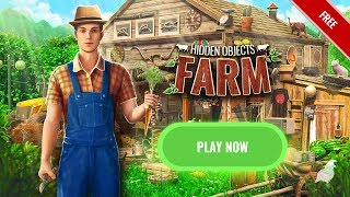 Hidden Object Farm Games for Android 2019 - Mystery Village Escape Game Free