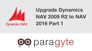 Dynamics NAV Upgrading Dynamics Nav 2009 R2 Version to Dynamics Nav 2016 Version   Part 1