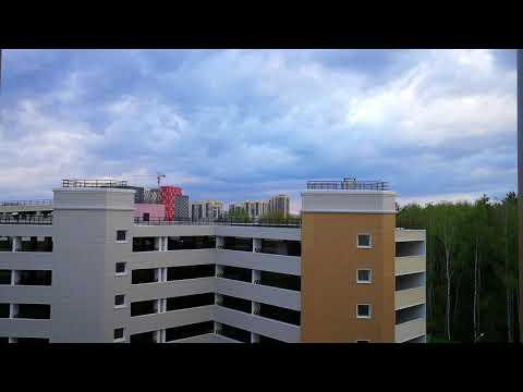 """Новая Москва. ЖК """"Рассказово"""". Таймлапс 4К. Виды из окон"""