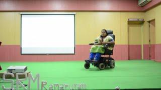 Importance of Sports among the Disabled | Madhavi Latha | TEDxSRMRamapuram