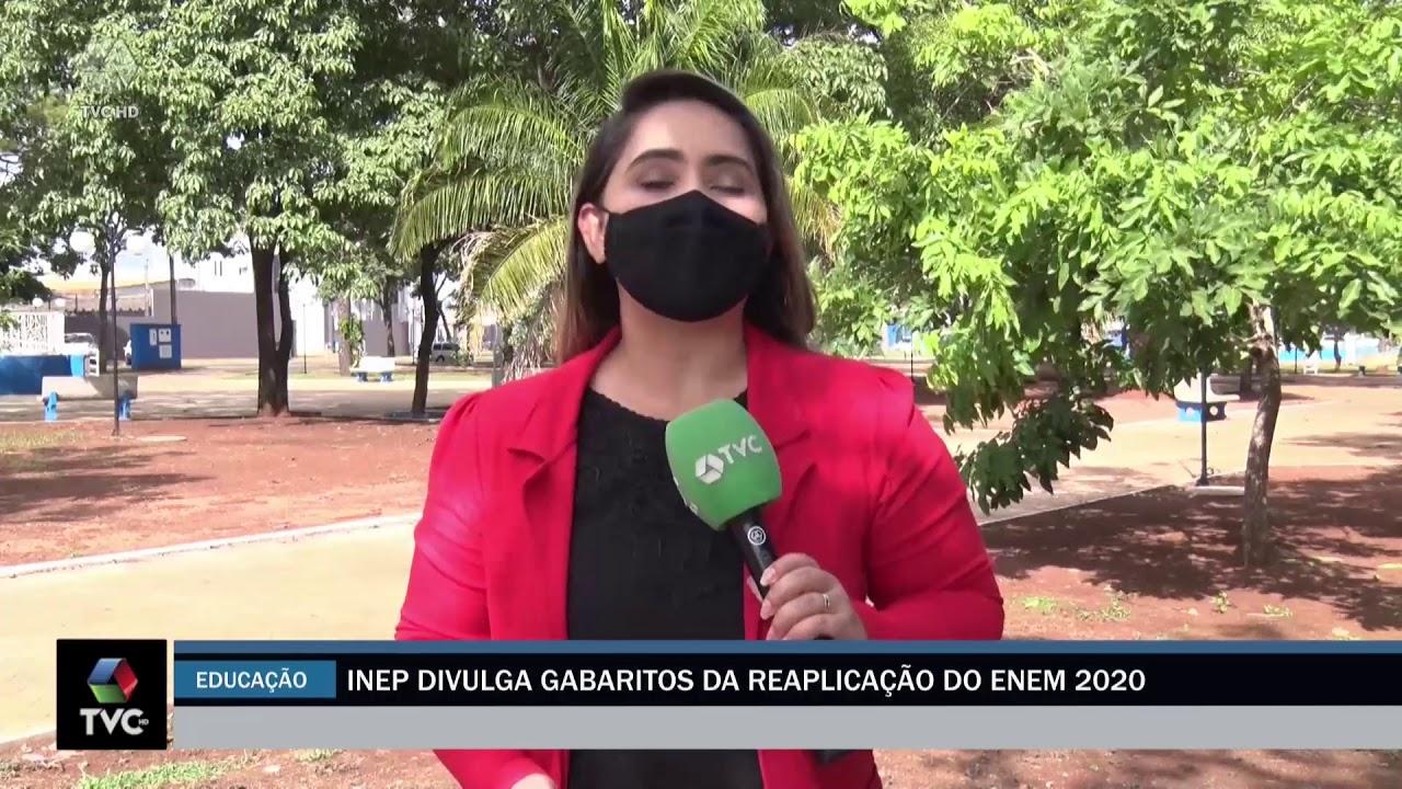 INEP DIVULGA O GABARITO DA REAPLICAÇÃO DO ENEM 2020
