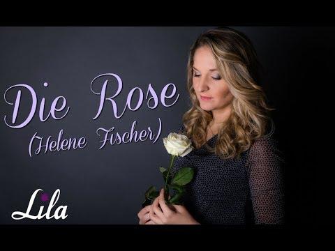 Die Rose - Helene Fischer / Bette Midler, deutsch - Sängerin Lila für Hochzeit / Beerdigung