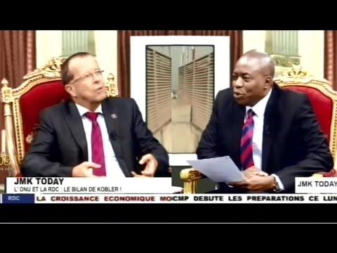 Martin KOBLER répond aux questions d'actualité au micro de J. M. Kasamba