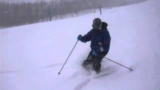 高畑スキー場大雪です.
