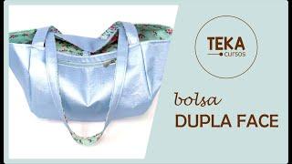Baixar Costura criativa: Bolsa dupla face - diamante - TEKA
