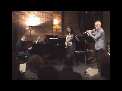Flute, Saxophone and Piano chamber music recital - MODUS ENSEMBLE- pt 1