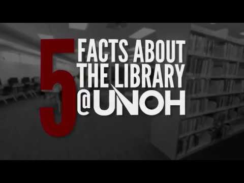 5 Facts about the Library at UNOH