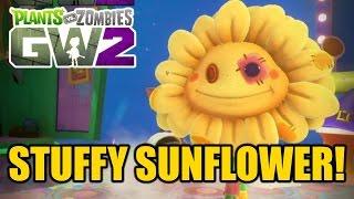 "Plants vs Zombies Garden Warfare 2 - New Sunflower Variant! ""STUFFY SUNFLOWER"""