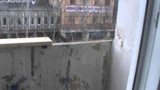 Алюминиевый балкон. Первый вид.(Алюминиевый балкон перед установкой., 2014-05-23T05:57:39.000Z)