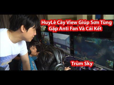 HuyLê Cày View Cho Sơn Tùng Gặp Anti Fan Và Cái Kết | Hãy Trao Cho Anh Top 1 Thế Giới
