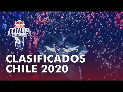 Clasificados Chile 2020 | Filtros | Red Bull Batalla de los Gallos