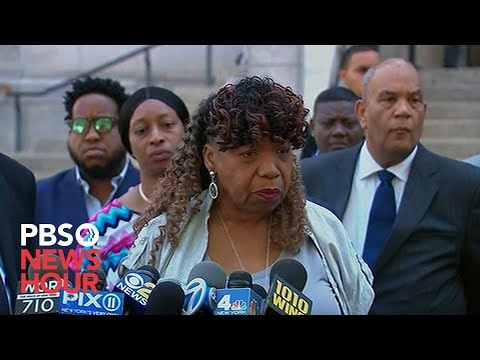 WATCH: Eric Garner's mother says government 'let us down' with decision to not bring charges