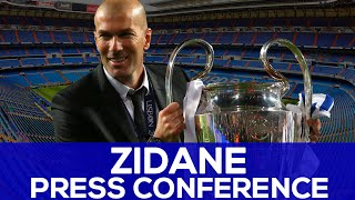 Zidane's first press conference as real madrid coach | real madrid news