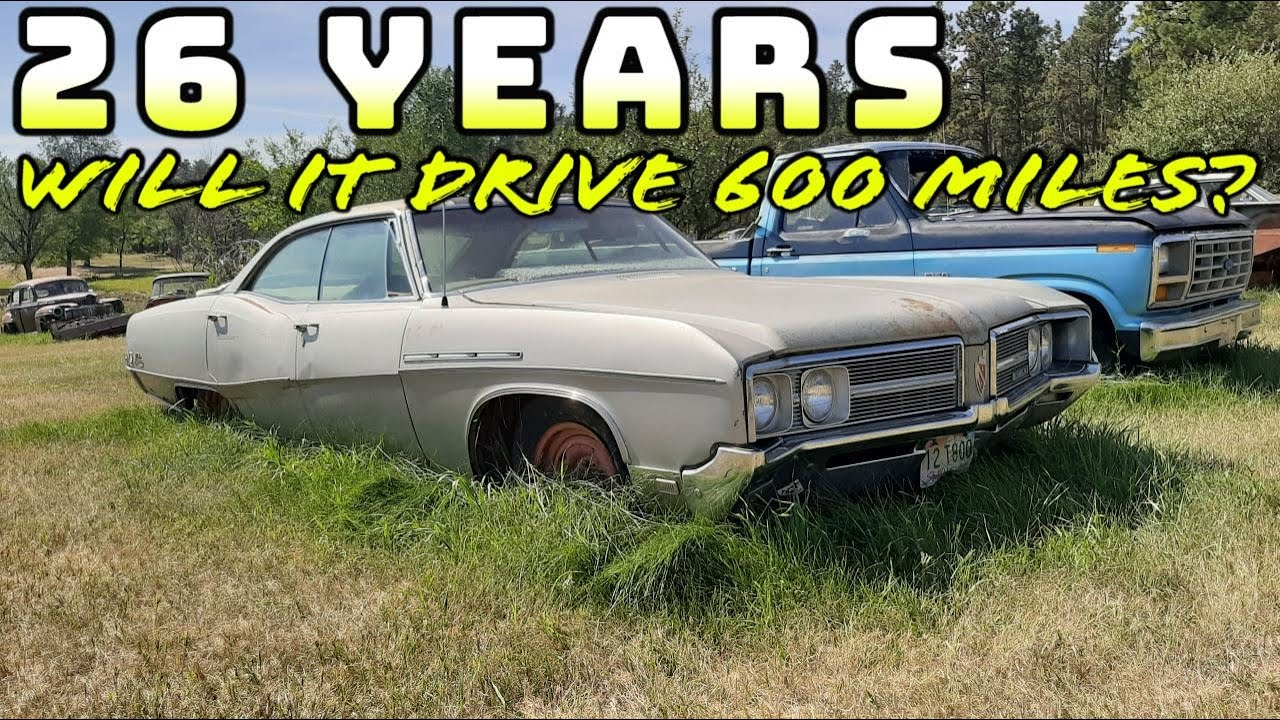Download Will It RUN AND DRIVE 600 Miles Home?1968 Buick LeSabre 400 FORGOTTEN For 26 YEARS!