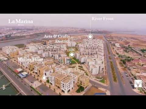 Avancement des travaux de construction La Marina Morocco & Fairmont Residences