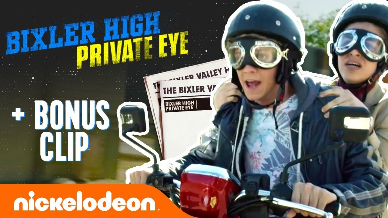 "Download Bixler High Private Eye ""Runaway Scooter"" + Henry Danger & Rufus 2 BONUS Scenes | Nick"