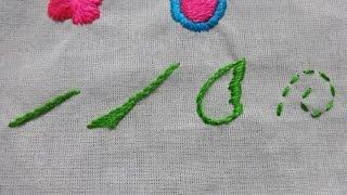 05 bordado mexicano punto yerba yerba con relleno y pespunte
