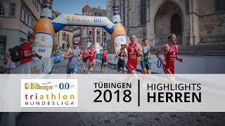1. Bitburger 0,0% Triathlon-Bundesliga - Tübingen 2018: Highlights Männer