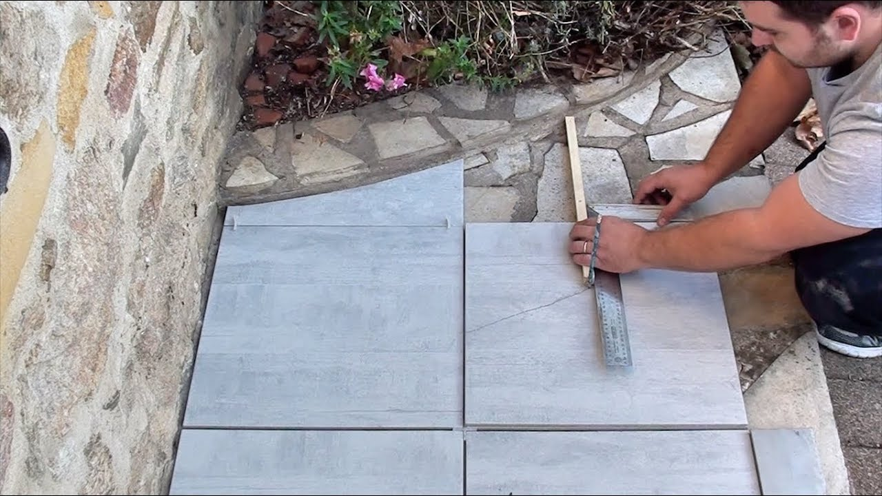 Comment Couper Du Carrelage En Arrondi how to draw and cut a round on a tile