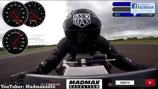 2017 | MTT-Y2K | La moto équipée d'une turbine d'hélicoptère | Accélération - Burn - Son - Mise en