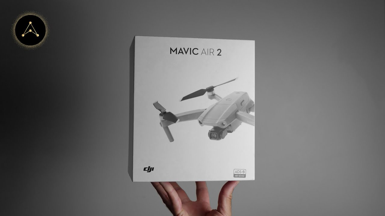 Mavic Air 2 UNBOXING and SETUP (Facts, Test Footage)