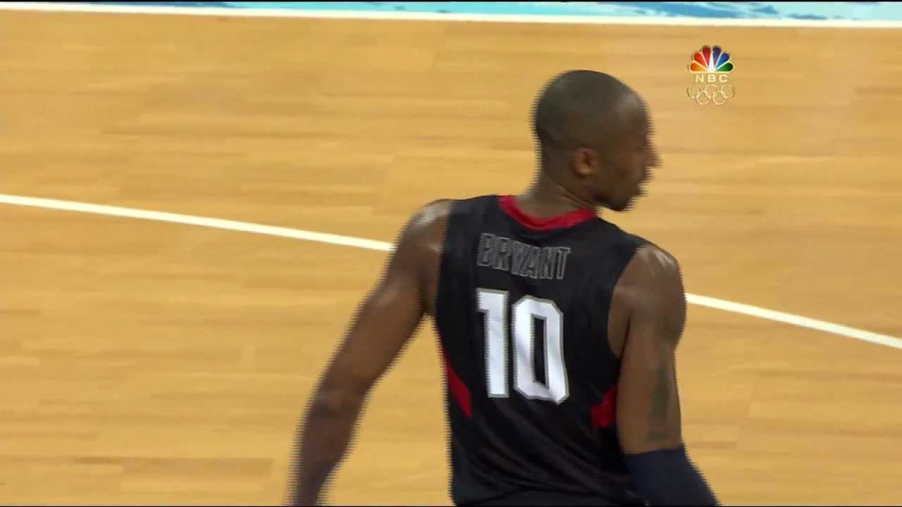 425a488794b7 Kobe Bryant s clutchest game 2008 Olympics USA - YouTube