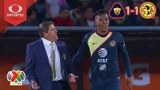 ¡Todo se define en la vuelta! | Pumas 1 - 1 América | Liga Mx - Semifinal | Televisa Deportes