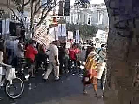 #BastaYa #SF #housing march 2